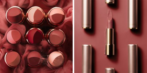 Suzy's lipstick is by brand LANCOME, Hot Hot Hot in Start-Up