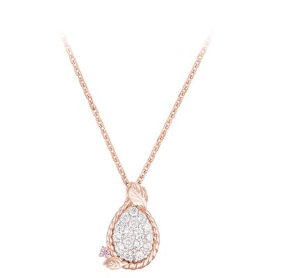 Penthouse Lee Ji Ah necklace is also worn by K-Pop star I.U, fine design (J.Estina)