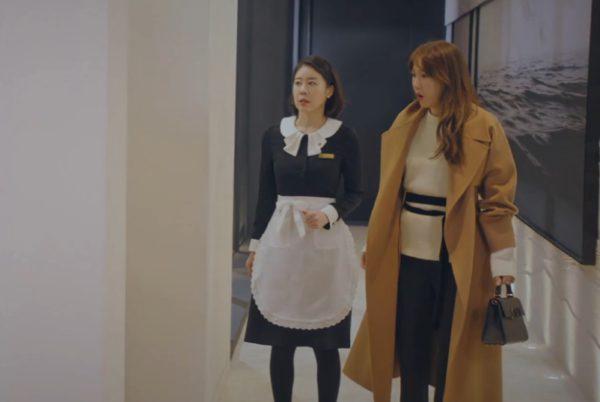 Penthouse Lee Ji Ah VALENTINO bag is Hot, very luxury(VALENTINO)
