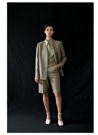 Start-Up Suzy Collarless Jacket benar-benar stylish (LEHA)