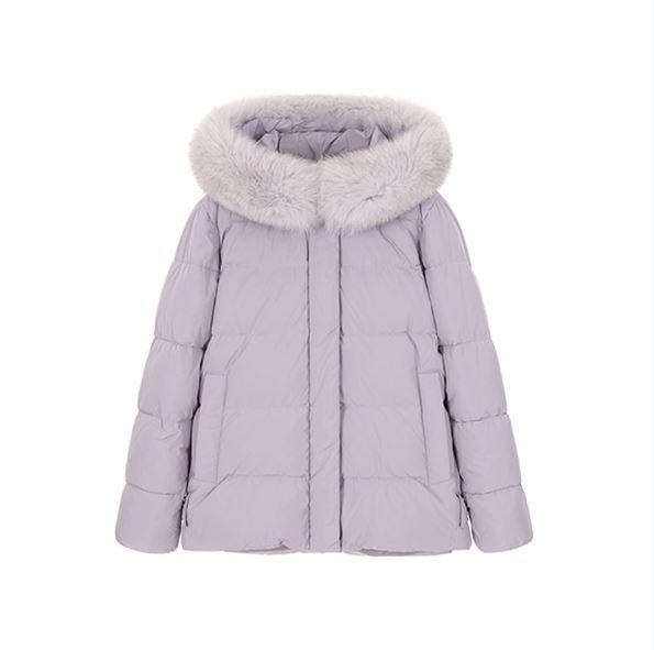 True Beauty Moon Ga Young cute purple padded jacket