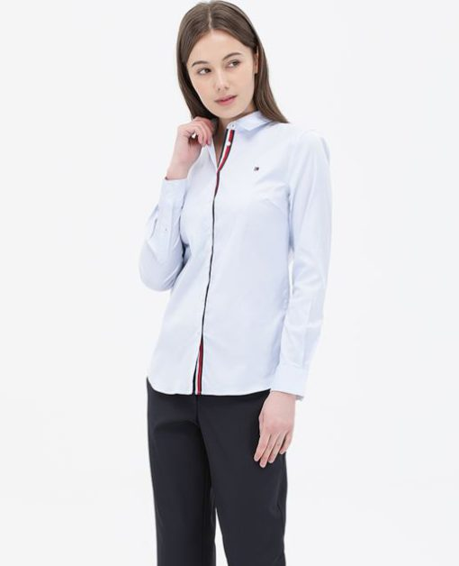 True Beauty Moon Ga Young shirts are elegant by Tommy Hilfiger