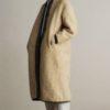 True Beauty Moon Ga Young mignon long manteau est à la mode