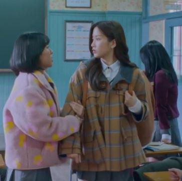 True Beauty Moon Ga Young va bene per l'inverno