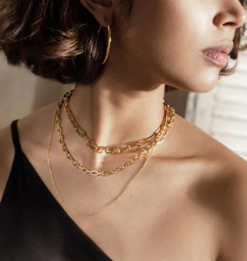 Penthouse Kim Eugene necklace are super elegant