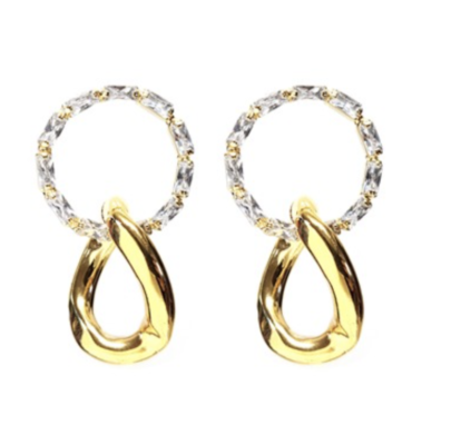 Penthouse Kim So yeon cubic circle earrings are truly lovely