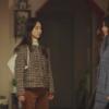 Cô ấy sẽ không bao giờ biết Won Jin Ah Check Jacket hoàn toàn sang trọng