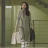Cô ấy sẽ không bao giờ biết Won Jin Ah áo khoác cashmere hoàn toàn sang trọng