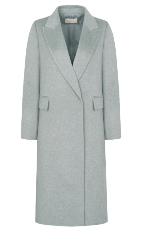 Ela nunca saberia que o casaco de cashmere Won Jin Ah era absolutamente elegante