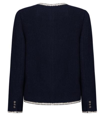 Ela nunca conheceria a jaqueta curta Won Jin Ah totalmente elegante
