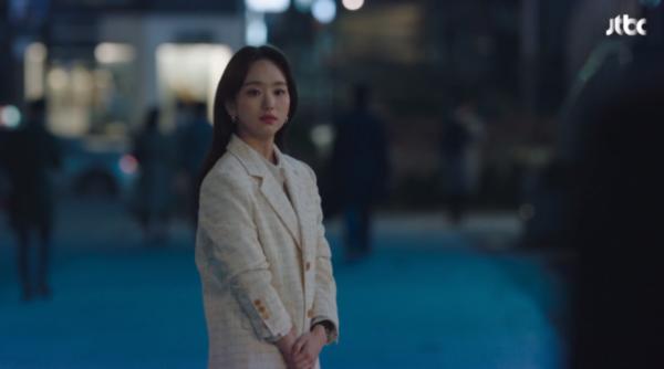 Cô ấy sẽ không bao giờ biết Won Jin Ah áo khoác vải tweed chắc chắn thanh lịch