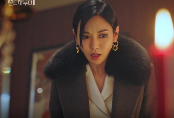 Penthouse Kim So yeon A-line coat super elegant
