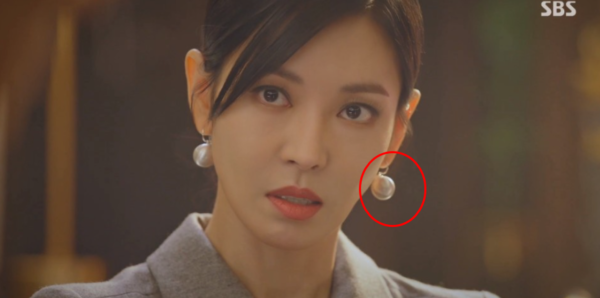 Penthouse Kim So yeon earrings literally attractive