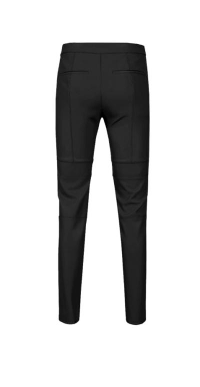 Penthouse Lee Ji Ah leather pants absolutely stylish