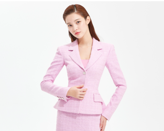 Casaco de tweed penthouse Kim So yeon verdadeiramente estiloso