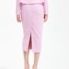 Penthouse Kim So yeon váy bút chì tweed thật phong cách
