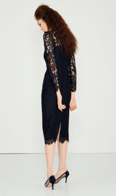 Penthouse Kim So yeon gaun berkelas hitam sangat seksi