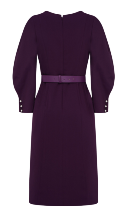 O vestido violeta Vincenzo Jeon Yeo Bin é completamente atraente