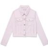 A jaqueta jeans da Love Alarm Kim So Hyun é totalmente estilosa