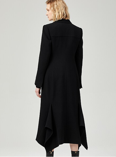 Penthouse Kim So yeon crape coat totally classy
