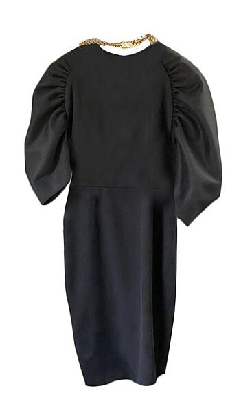 Penthouse Kim Eugene Shirring Sleeve Dress totally elegant