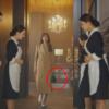 Bolsa crossbody Penthouse Lee Ji Ah Brioche definitivamente elegante