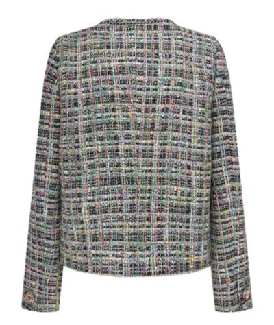 Jaqueta Vincenzo Jeon Yeo Bin Colorpop Tweed verdadeiramente atraente