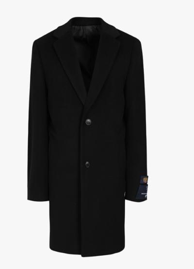 Vincenzo Song Joong Ki Black terno de ajuste padrão completamente clássico