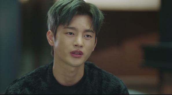 Doom At Your Service Lee Seo In Guk moletom preto é completamente atraente