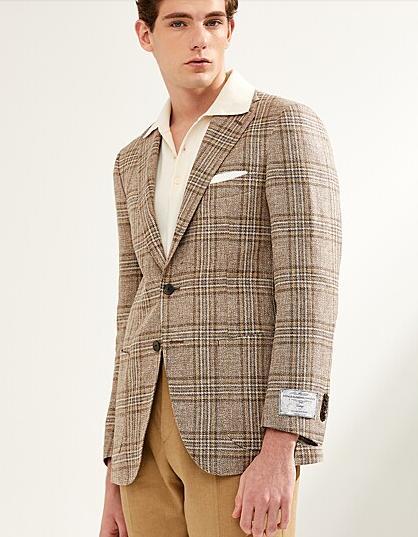 Vincenzo Song Joong Ki beige zijden jasje echt aantrekkelijk
