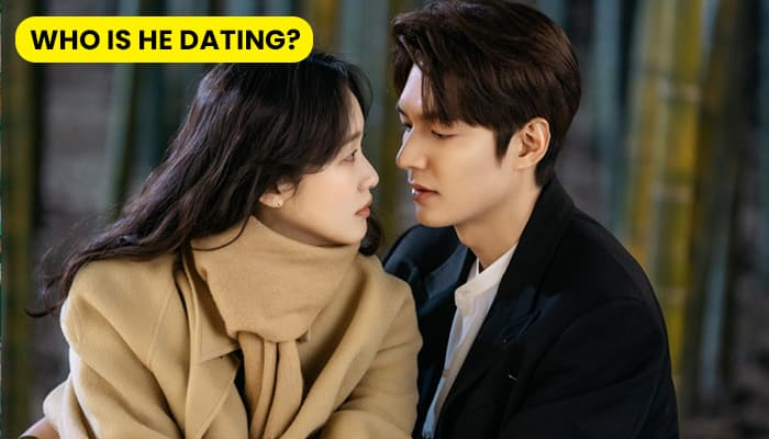 Who is Lee Min Ho's girlfriend in 2021?