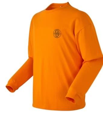 Nachgemachtes MINSEO orangefarbenes Sweatshirt ist absolut süß