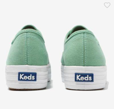 Imitation Lim Na Young grüne Sneaker sind definitiv stylisch