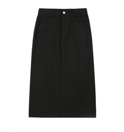 cependant La jupe longue en coton fendue dans le dos Han So Hee est très populaire