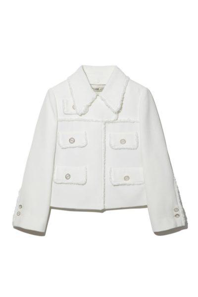 Doom at Your บริการ เสื้อแจ็กเก็ตผ้าทวีดปลอกคอถอดได้ ชินโดฮยอน คลาสสิคอย่างแท้จริง