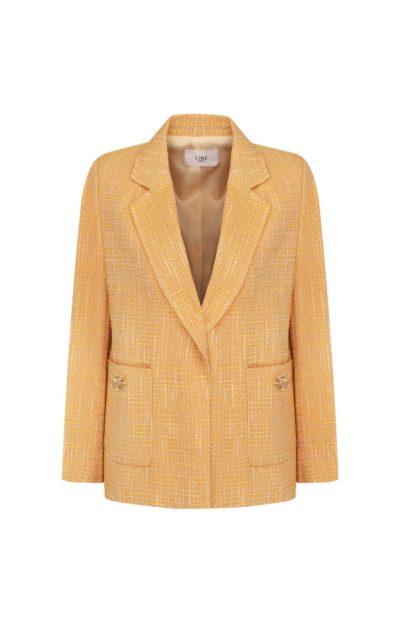 Hospital Playlist Jeon Mi Do Gold Crop Tweed Jacket โดดเด่นอย่างแน่นอน