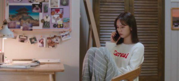 私のルームメイトはGumihoHyeriですLZLONG SLEEVE WHITETEEはとてもかわいいです